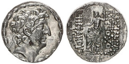 Antique Coins, Greek Coinage, Seleucid Kingdom, Antiochos VIII, Silver Tetradrachm 121-97BC, SC2309, XF ! - Greche