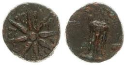 Antique Coins, Greek Coinage, Cimmerian Bosporos, Pantikapaion, AE Dichalkus 90-80BC, Fine - Greche