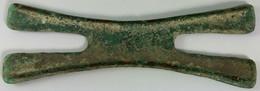 Primitive Money, Zimbabwe, Original Copper H-shaped Money Cross (13,5 Cm - 141 Gram) In Excellent Condition - Origine Sconosciuta