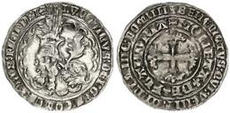 Low Countries, Flanders, Lodewijk Van Male, Dubbel Groot (Botdrager) Silver ND (1346-1384), VF/XF - [ 1] …-1795 : Periodo Antico