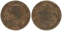 Austrian Netherlands, Copper Medal 1727 Pour Le Gouvernement De Marie-Elisabeth, Scarce, VF - [ 1] …-1795 : Periodo Antico