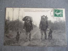 Fourmies  Frontiere Franco Belge Départ Des Douaniers Pour L Embuscade - Fourmies