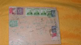 ENVELOPPE ANCIENNE DE 1939../ CACHETS REPUBLICA ESPANOLA CENSURA BARCELONA POUR PARIS + TIMBRES X 10 A ETUDIER - Sin Clasificación