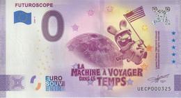 Billet Touristique 0 Euro Souvenir France 86 Futuroscope Lapins Crétins 2020-6 N°UECP000325 - Private Proofs / Unofficial