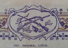 PIEPER Anciens Etablissements PIEPER HERSTAL 1927 Armes / Wapenfabriek - Sin Clasificación