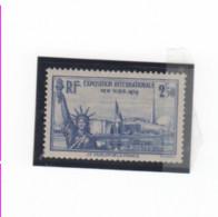 FRANCE-Timbre Poste N° 458 NEUF AVEC Trace De Charnière - Cote Yvert 11.00 - Unclassified