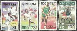Nigeria 659/662 ** Deportes. 1996 - Nigeria (1961-...)