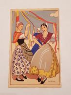 Carte Postale Henry Pertus N10 Danse Des Tisserands - Otros