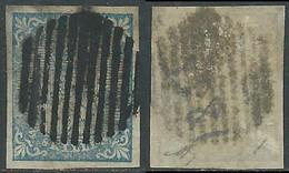 1855 NORVEGIA USATO STEMMA CON LEONE RAMPANTE 4 SK - RD36-3 - Used Stamps