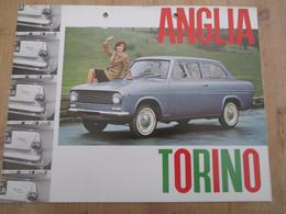 Ford Anglia Torino Auto Car - Publicidad