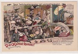 Der Weltuntergang Ist Verschoben - Einladung Zur Abschiedskneipe - Kometenbräu - Sign.Michaelis      (A-282-200721) - Non Classés