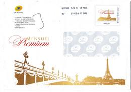 Prêt A Poster Paris Tour Eiffel Pont Alexandre III Entier France Seine - Non Classificati