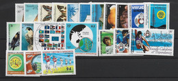 NOUVELLE CALEDONIE ANNEE COMPLETE 1987 MNH Neufs** - + PA - Años Completos