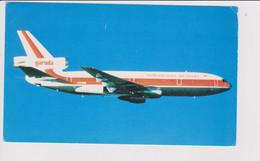 Vintage Rppc Garuda Airways Douglas Dc-10 Jet Aircraft - 1946-....: Modern Era