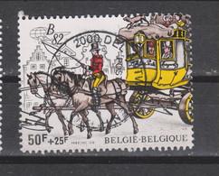 COB 2077 Oblitéré Malle-poste Dilligence - Used Stamps