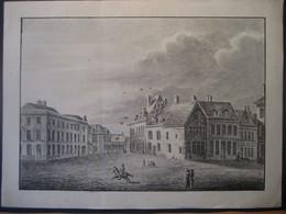 Deutschland 1820- Zeichnung Stadtansicht 1820 - Dessins