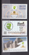Stamps SUDAN 2003 SC 541 543 AFRICAN BANK NOTE PRINTING MNH SET Cv$37 #31 - Sudan (1954-...)
