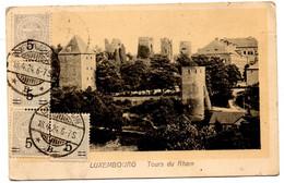 CP De Luxembourg Gare Rham (18.04.1924) Pour Saint Germain En Laye - Briefe U. Dokumente