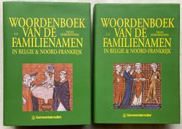 Woordenboek Van De Familienamen In België & Noord-Frankrijk - 2 Delen - Frans Debrabandere - 1993 - Genealogie - Geschichte