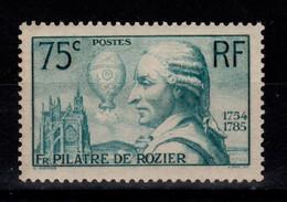 YV 313 Pilatre De Rozier N* Cote 20 Euros - Ungebraucht