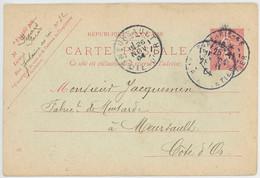 CPA 21 - Jacquemin - Fabricant De Moutarde - Entier Postal - 1904 - Meursault