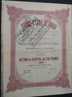 COKES OVENS Fours A Coke De DOUAI 1911 - Industrial