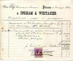 ITALIE.PALERME.INGHAM & WHITAKER. - Non Classificati