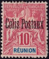 ✔️ Reunion 1906 - Colis Postaux - Yv. 3 * MH - €26 - Unused Stamps