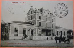 CARTE BEAUNE - 21 - LA GARE - CALECHE  TONNEAUX - SCAN RECTO/VERSO - 8 - Beaune