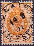 Finland 1891 1kop Wapen Met Ringen GB-USED - Gebraucht