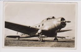 Vintage Rppc Swissair Swiss Air Lines General Aviation GA-43 HB-ITU Aircraft - 1919-1938: Between Wars