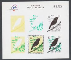 New Zealand 1989 Mi# Bl.18** BIRDS, PHILEXFRANCE '89 PHILATELIC EXHIBITION - Ongebruikt