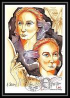 4168/ Carte Maximum (card) France N°2408 Hommage Aux Femmes. Louise Michel - 1980-89