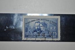 France 1938 Y&T 402 Curie Oblitéré - Oblitérés