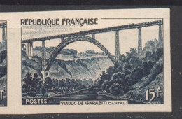 Viaduc De Garabit YT 928 De 1952 Sans Gomme - Non Dentellati