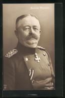 AK General Karl Litzmann, Halbportrait In Uniform - Guerra 1914-18
