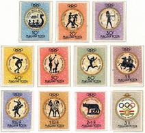 Hungria. Hungary. 1960. Mi 1686 / 96. Juegos Olimpicos. Olympic Games. Summer. Rome. Roma - Nuevos