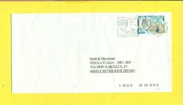 STORIA POSTALE ITALIA - ISOLATI SU  BUSTA - - 2001-10: Poststempel