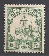 Deutsche Kolonien Mariannen Michel Nummer 8 Ungebraucht Falz - Colony: Mariana Islands