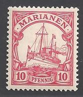 Deutsche Kolonien Mariannen Michel Nummer 9 Ungebraucht Falz - Colony: Mariana Islands