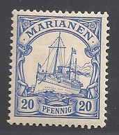 Deutsche Kolonien Mariannen Michel Nummer 10 Ungebraucht Falz - Kolonie: Marianen