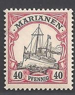 Deutsche Kolonien Mariannen Michel Nummer 13 Ungebraucht Falz - Kolonie: Marianen