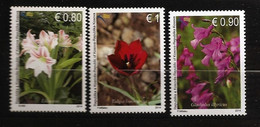 Kosovo 2014 N° 162 / 4 ** Flore, Fleurs, Liliaceae, Tulipe, Tulipa Kosovarica, Glaïeul D'Illyrie, Lys, Muguet, Jacinthe - Kosovo