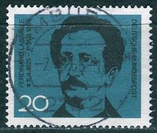 BRD - Mi 443 ⨀ (E) - 20Pf             Ferdinand Lassalle - Used Stamps