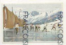 Hockey Sur Glace. Signée Carlo Pellegrini. Vouga & Cie Editeurs - Otros Ilustradores