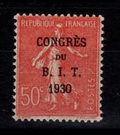 YV 264 N** Congres Du BIT - Semeuse Bien Centrée Cote 7+ Euros - Nuovi