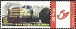 DUOSTAMP** / MYSTAMP** - 30 Ans Philrail Namur / 30 Jaar Philrail Namen - 1976-2006 - Eisenbahnen