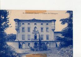 CPSM - 30 - 7 - SAINT AMBROIX - CHATEAU DE FABIARGUES - EDIT LOUIS COSTE - - Saint-Ambroix