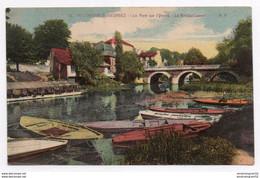 VILLENEUVE ST GEORGES : LE PONT SUR L'YERRES LE BATEAU LAVOIR - Villeneuve Saint Georges