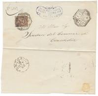 DA MODENA A CONCORDIA - 15.1.1890. - Marcofilie